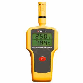 手持式温湿度计(工业级) Victor 231