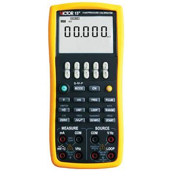 电压电流压力校验仪 VICTOR 15+