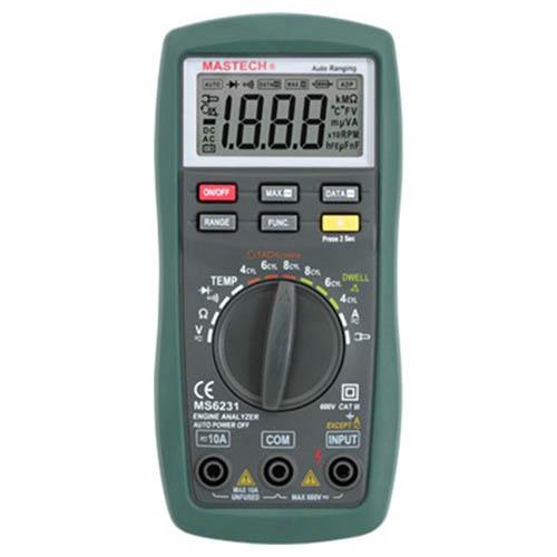 汽车引擎分析数字多用表 MS6231