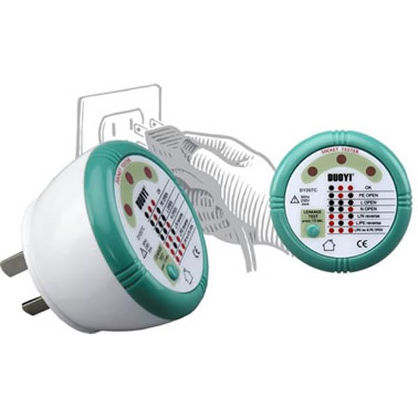插座安全测试器 DY207C