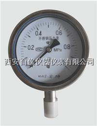 抗震不锈钢压力表,Y-100BFZ,不锈钢耐震压力表 YTF-100Z,Y-100BFZ