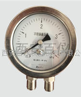 不锈钢差压表 CYW-100B,CYW-150