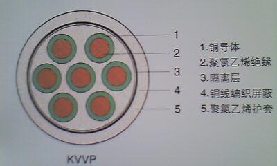 厂家直销塑料绝缘屏蔽控制电缆KVVP2 厂家直销塑料绝缘屏蔽控制电缆KVVP2