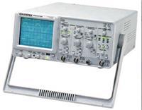 臺灣固緯GOS-6103C模擬示波器,100MHz光標直讀式示波器,時基自動換檔,6位計頻功能,10組面板設定存儲,延遲掃描  GOS-6103C