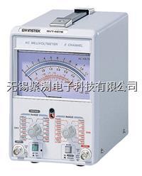 臺灣固緯交流毫伏表GVT-427B,2CH 300uV~100V GVT-427B