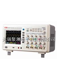 優利德UTD4104C數字示波器,帶寬:100MHz,4通道,內置3位半數字萬用表,通過U盤可進行系統軟件升級 UTD4104C