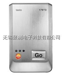 testo 176 T3 - 溫度記錄儀,可同時連接4個外接熱電偶探頭 (K, T或J型熱電偶) 適用于工業環境,帶有堅固的金屬外殼,防護等級IP 65 testo 176 T3