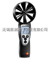 testo 417 - 葉輪風速儀,配置一體式直徑100 mm的葉輪探頭 測量風速、風量及溫度 testo 417
