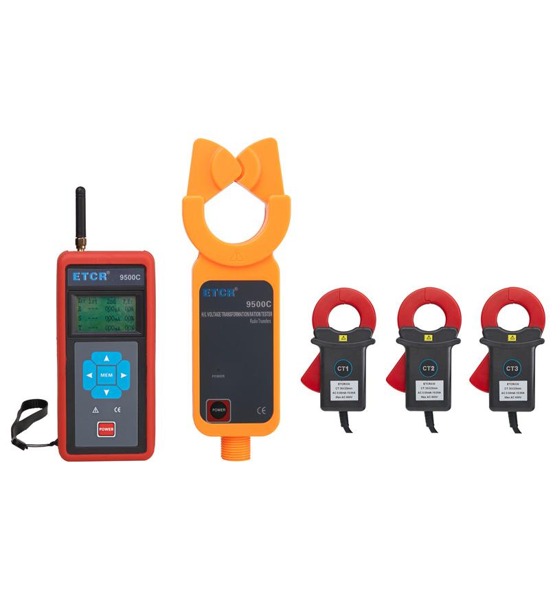 ETCR9500C三通道无线高压变比测试仪