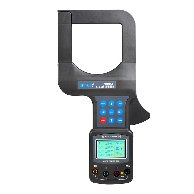 ETCR7000A Large Caliber Leakage Clamp Meter
