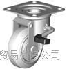 成都西野新产品重庆地区代理日本狮子吼SISIKU带旋转止动器的脚轮 WWJB-75