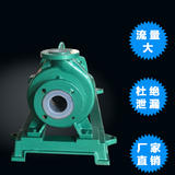 CQB80-65-160FL型长支架氟塑料磁力泵 强耐腐蚀磁力泵 耐酸碱盐有机溶剂磁力泵上海磁力泵厂家