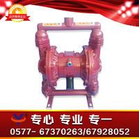 铸铁四氟气动隔膜泵 铸铁丁青双隔膜泵 铸铁特氟龙隔离泵 QBY-25