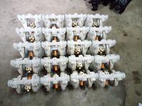 嘉兴湖州绍兴金华衢州舟山台州丽水市四氟塑料隔膜泵气动