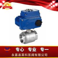 二片式电动球阀 Q911F