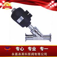 卫生级气动角座阀 Y615W