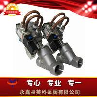 气动角座阀带电磁阀 Y615