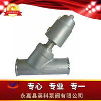 快装式气动Y型角座阀 Y8015~Y8065