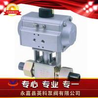 焊接式气动高压球阀 Q661N