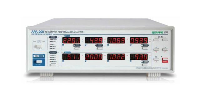 APA-200 电源适配器性能分析测量系统