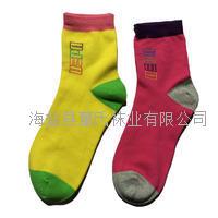 厂家批发 全棉运动女袜 秋冬保暖拼色女袜 品牌女运动袜 (抗菌防臭袜)