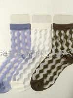 A transparent diamond breathable card stockings in cylinder card wholesale stoc