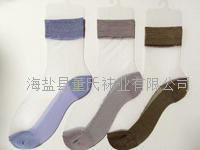 Ultra-thin resistance wire hook silk card silk cotton socks