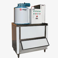 0.6吨片冰机、降温保鲜制冰机 ICE-600kg