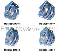 原装进口 京町脚轮 KYOMACHI小直径万向轮 MBS150-4MC-K MBS150-4MC-K