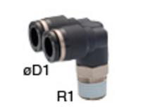 日本PISCO碧铄科 PAX12-04 双肘弯头 管接头 PAX系列 原装正品