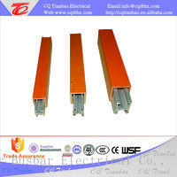 Single Pole Aluminum Low Voltage Conductor Bar System For Crane  THHL-150