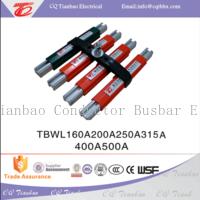 TBWL power supply long life aluminum 160A-500A electric busbar  TBWL