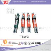 TBWG single pole safety galvanized steel 60A100A 125A 160A conductor busbar