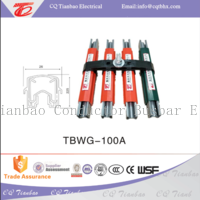 crane  Insulated and Safety galvanized steel conductor rail TBWG