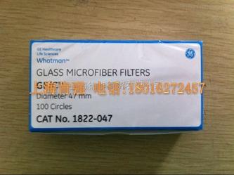 GF C玻璃纤维滤纸货号1822-050 whatman 沃特曼