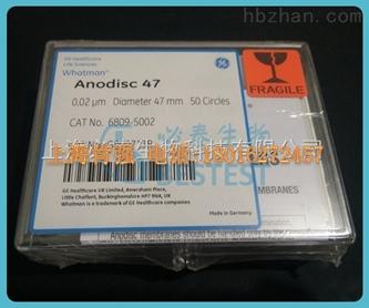 whatman 6809-5002 无机膜AAO模板 47mm 0.02um Anodisc47