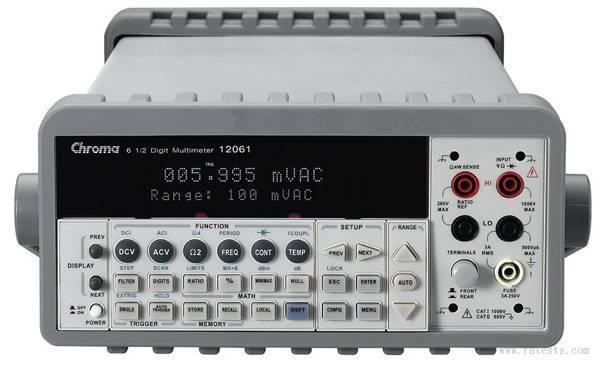 Model 12061六位半数字多功能电表