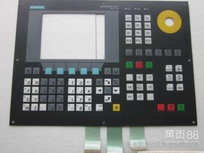 西门子802S数控系统按键坏维修
