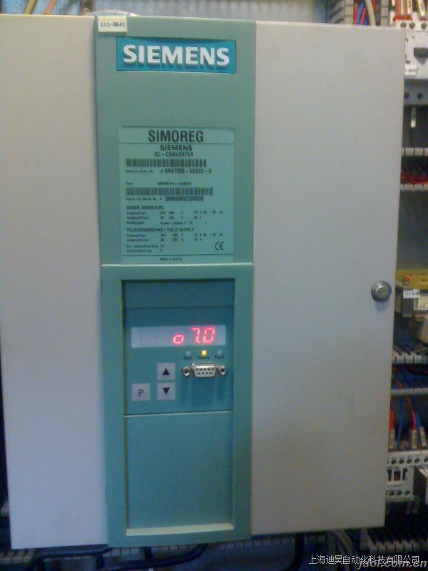 西门子6RA7095直流调速烧保险维修