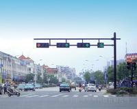双悬臂框架信号灯杆