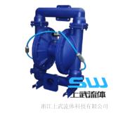 不锈钢粉体泵 QBF隔膜泵铝合金粉体输送泵