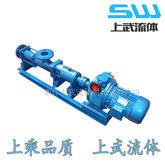 G型手轮调速无级变速螺杆泵