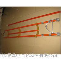 110KV 絕緣伸縮式檢測桿高強度托瓶架更換瓷瓶專用工具