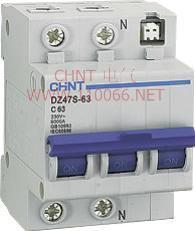 带分励脱扣断路器  DZ47S-63 1P+N+S 63A DZ47S-63 1P+N+S 63A