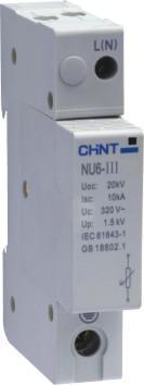 正泰电涌保护器  NU6-Ⅲ  NU6-Ⅲ/F   NU6-Ⅲ  NU6-Ⅲ/F