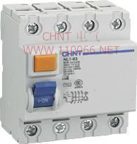 剩余电流动作断路器   NL1-63 2P 40A/30mA AC型