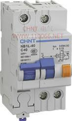 剩余电流动作断路器  NB1L-40 4P   NB1L-40 4P  NB1L-40 3P  NB1L-40 2P