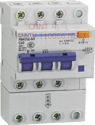 剩余电流动作断路器  NB47LE-63 1P   NB47LE-63 1P   NB47LE-63 2P  NB47LE-63 3P