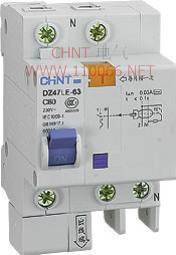 正泰剩余电流动作断路器  DZ47LE-63 4P  DZ47LE-63 4P DZ47LE-63 4P DZ47LE-63 3P4L