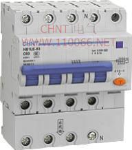 剩余电流动作断路器  NB1LE-63 3P NB1LE-63 3P  NB1LE-63 4P  NB1LE-63 2P
